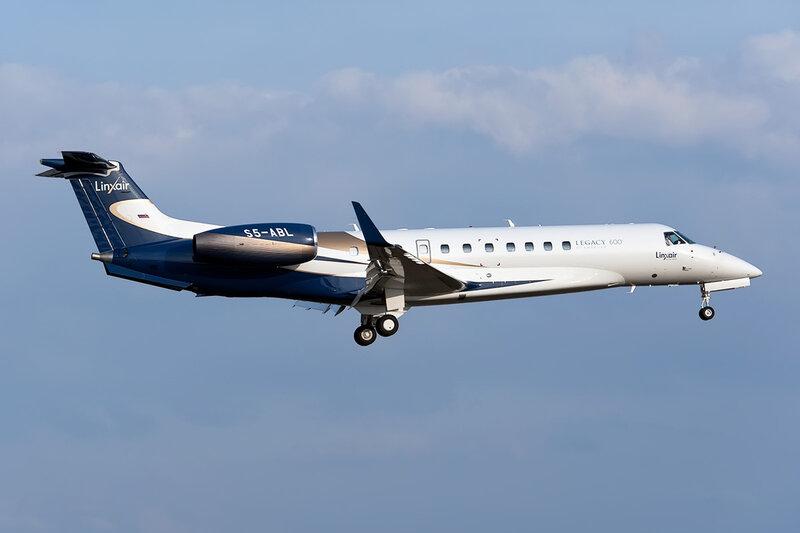 Embraer EMB-135BJ Legacy (S5-ABL) Linxair DSC_9878