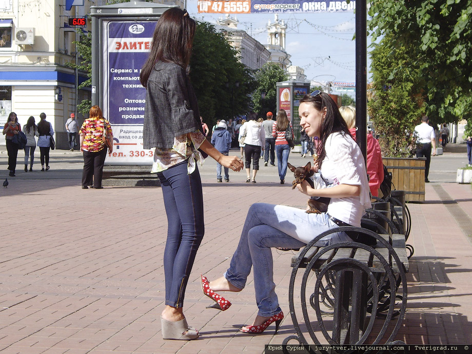 Красивые девушки на улице фото 226-8
