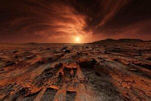 В древности Марс был похож на Землю