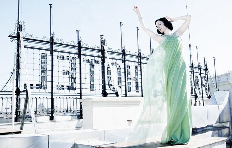 Дита фон Тиз (Dita von Teese) декабрь 2007