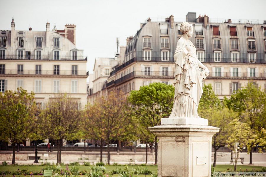 скульптура Париж