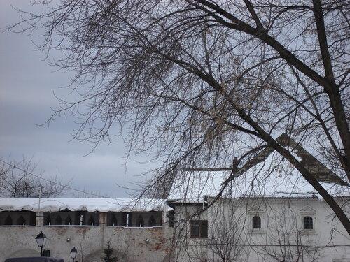 Внутренний двор Симонова монастыря
