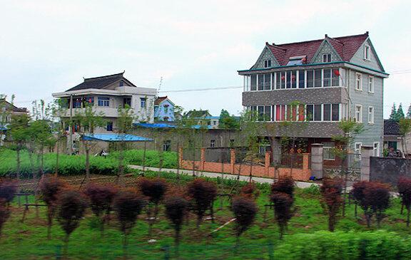 Деревня в Китае