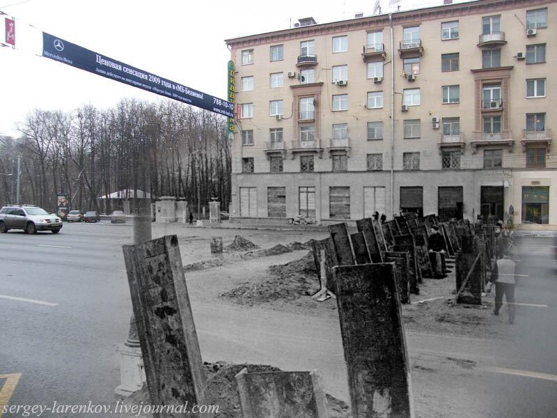 Смешение времен в фотоработах Сергея Ларенкова