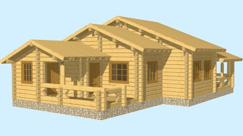 Проект дома в готическом стиле