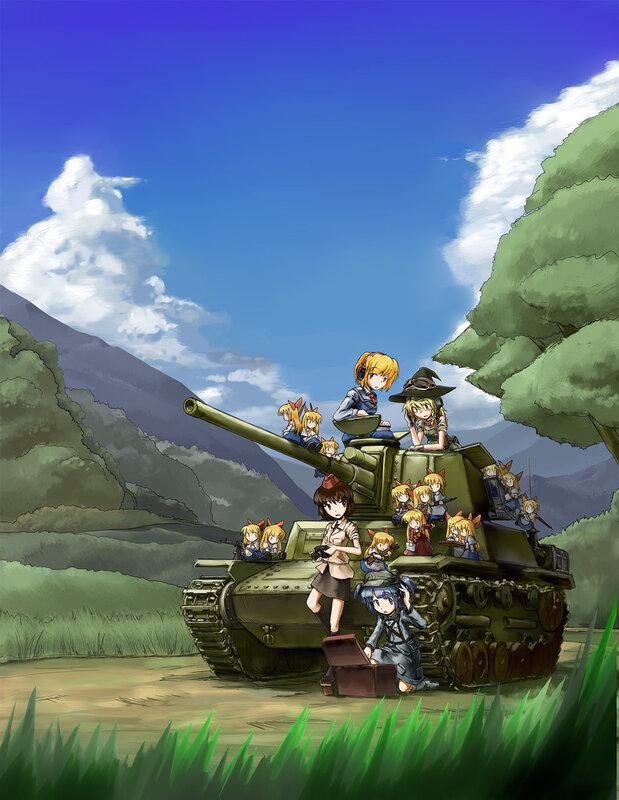 Нарисованные танки понедельника