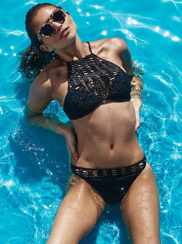 Daniela Lopez Osorio - Lovers and Friends Swimwear 2015