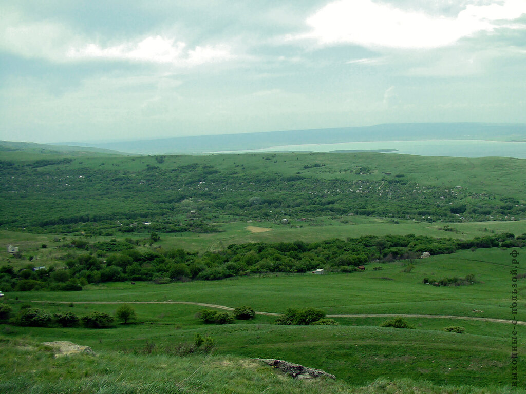 Вид на Сенглиеевское озеро