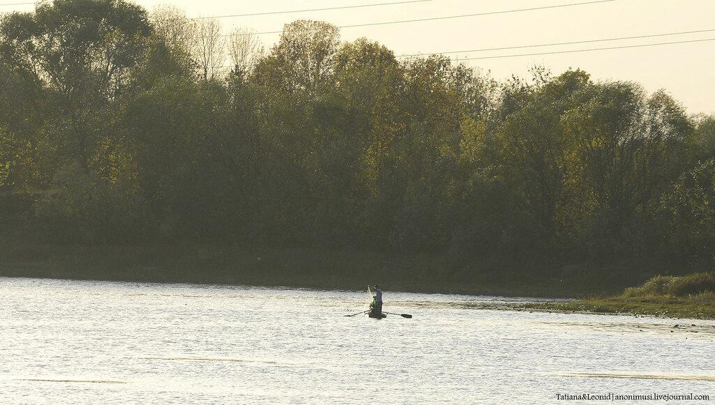 Рыболовы-браконьеры в Гомеле