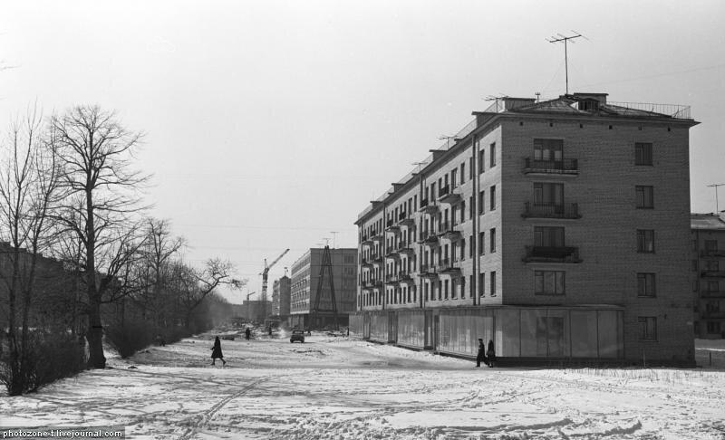 Петербург тогда и сейчас - 2-й Муринский, Ланская