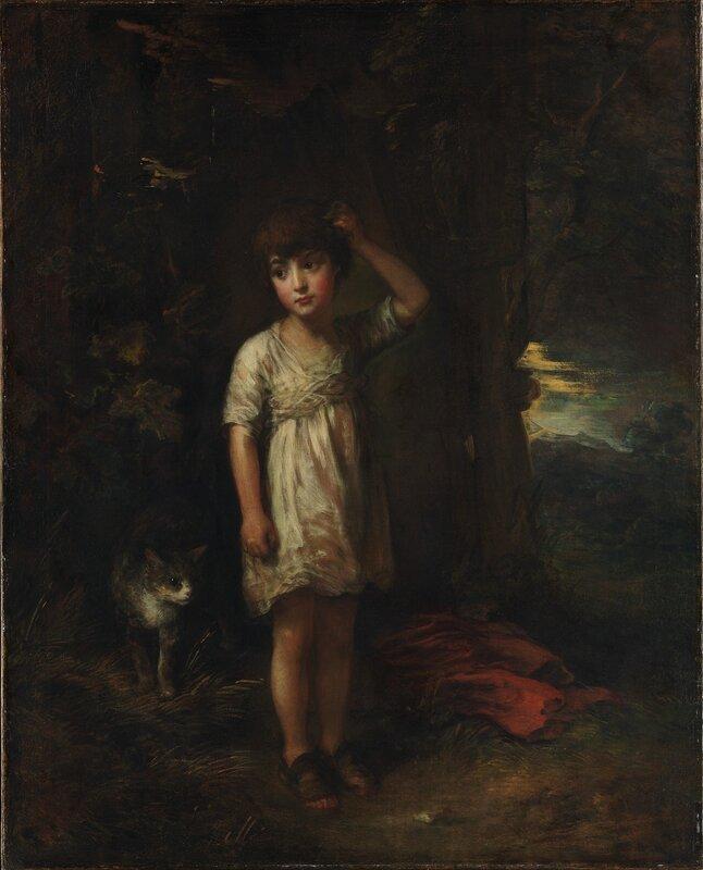 Мальчик с кошкой картинки 8