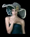 Девушки в шляпах 0_961e4_c8a3e42e_S