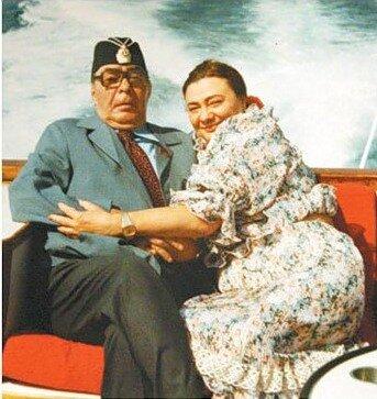 Галина и Леонид Брежневы