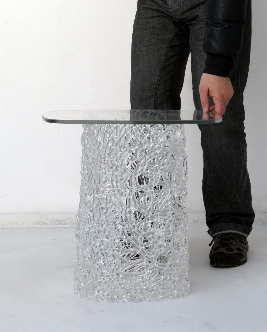 Стол в стиле макраме от дизайн-студии LucidiPevere