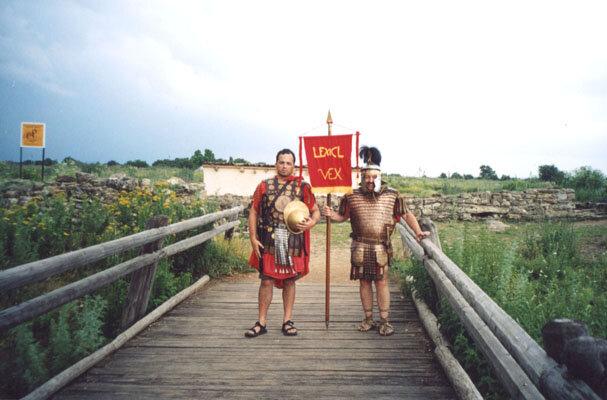 Танаис. Римские воины