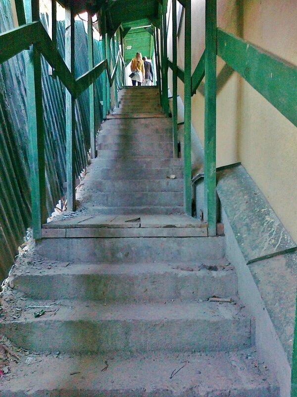 туннель на владимирской горке