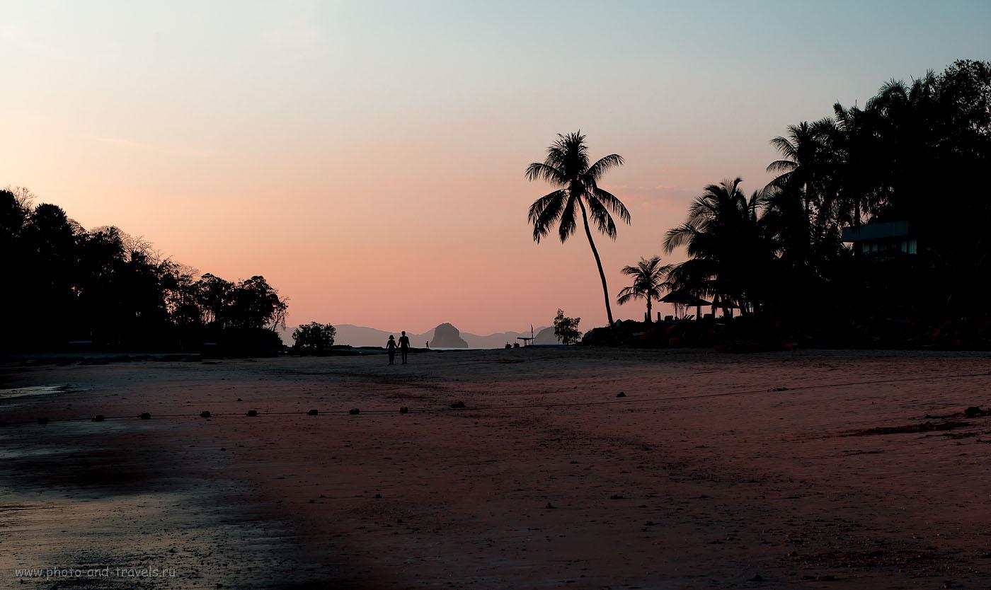 Фото 8. Таиланд.  Отзыв о поездке на Краби самостоятельно. Отдых на пляже Клонг Муанг. Любофф в тропиках (320, 70, 9.0, 1/125)