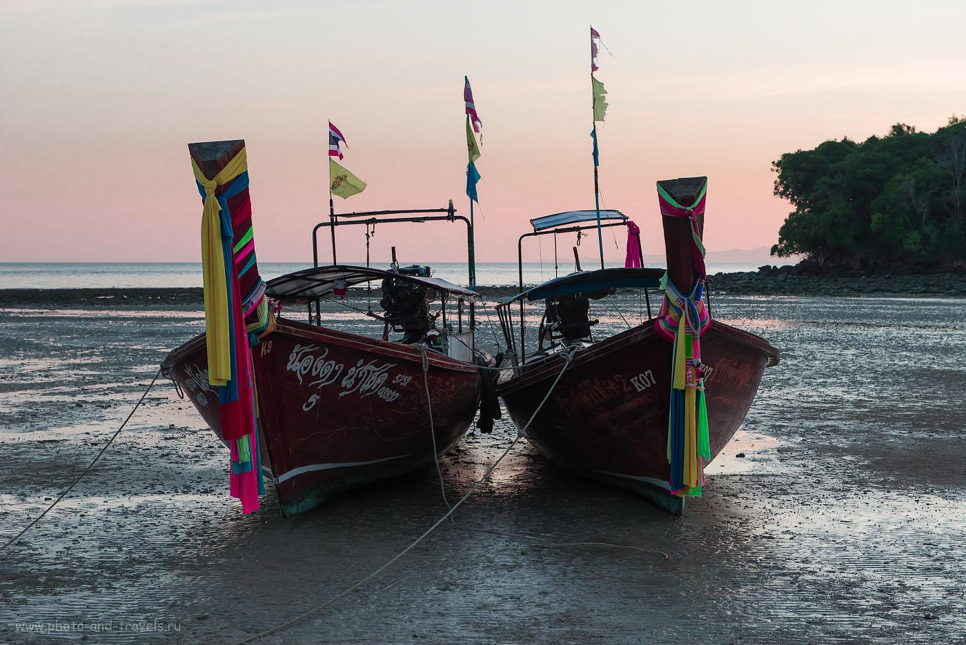 Фотография 9. Пляж Клонг Муанг на Краби. Отчет о самостоятельном отдыхе в Таиланде. После долгого дня нужно отдохнуть (640, 62, 8.0, 1/160)