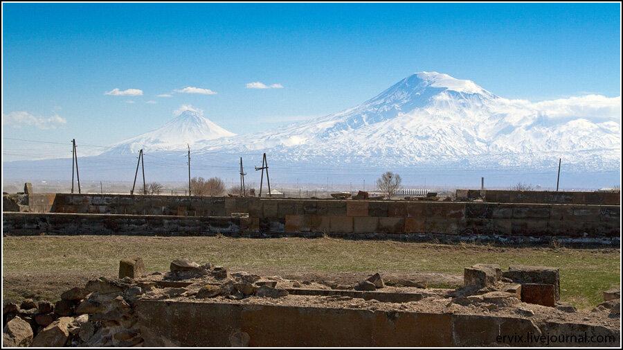Вершины Арарата - Масис и Сис