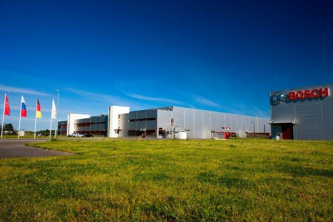 Завод Bosch в Стрельне