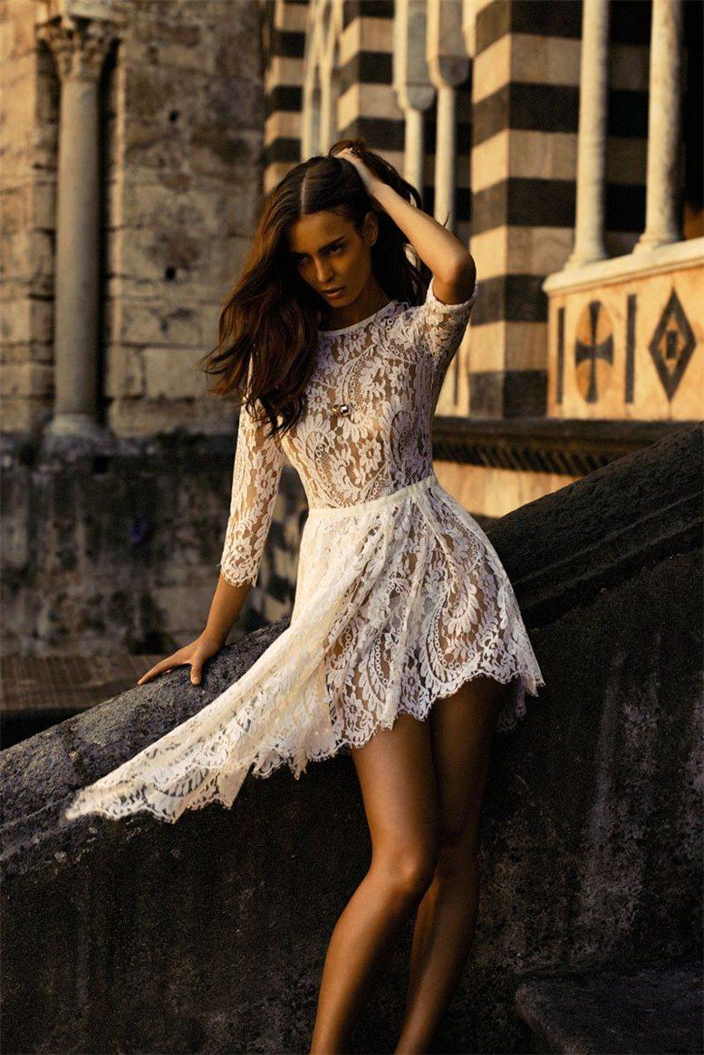 модель Мариана Брага / Mariana Braga, фотограф Steven Chee