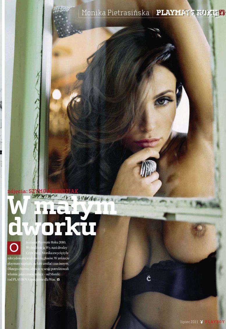 Monika Pietrasinska / Моника Петрашинска в журналах Playboy Польша, июль 2011 / Словения, март 2012 / Греция, май 2012