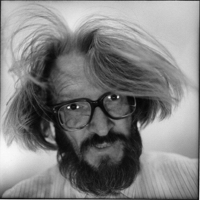 Николай Бахарев,автопортрет