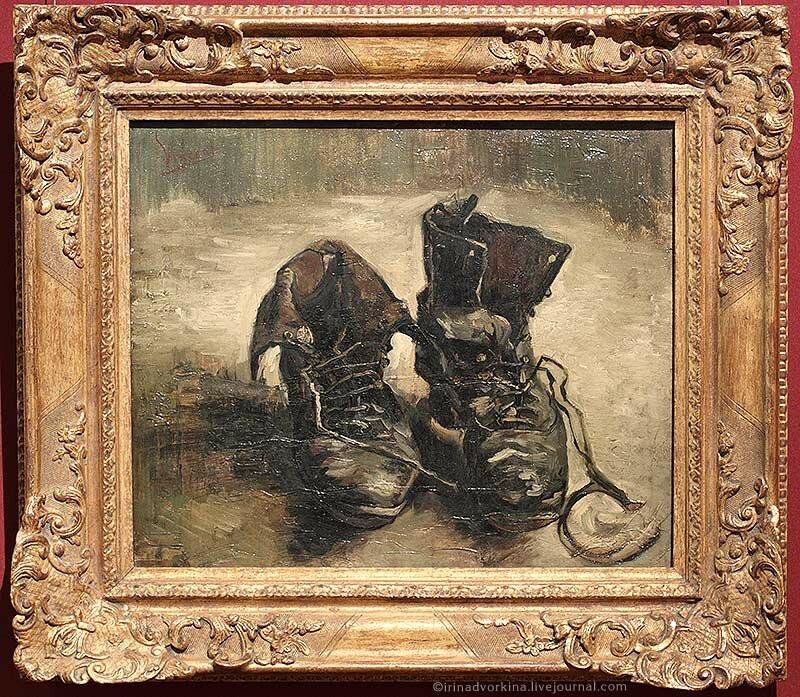 Винсент ван Гог. Ботинки
