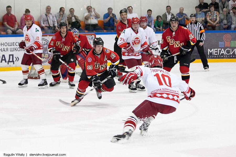 С 27 по 29 апреля на льду хоккейного