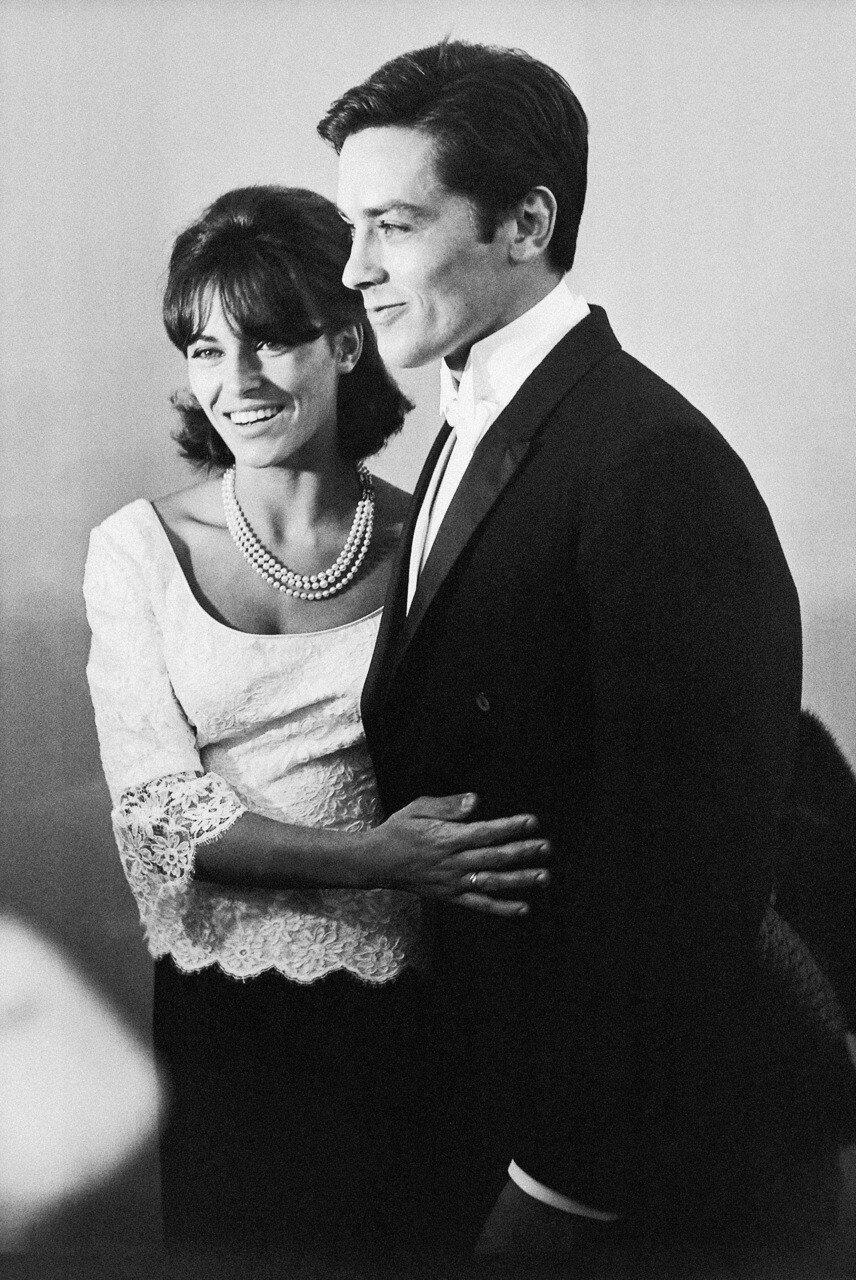 1965. На церемонии вручения премий Оскара с Натали