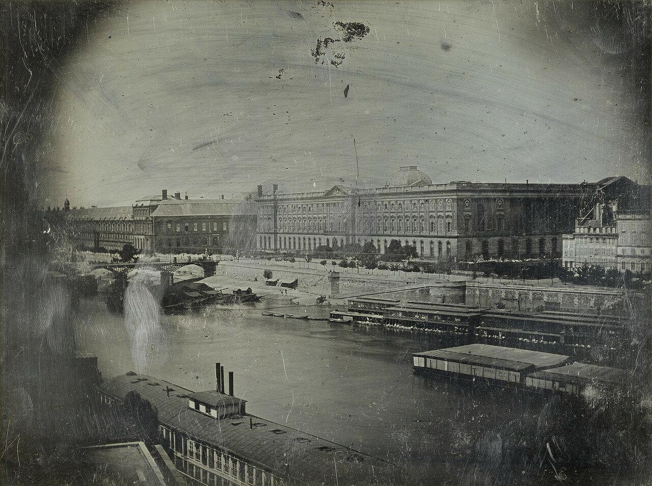 1839. Сена и Новый Мост