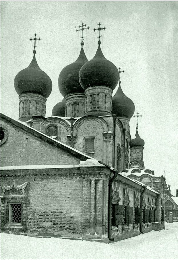 1930-е. Церковь Рождества в Бутырках