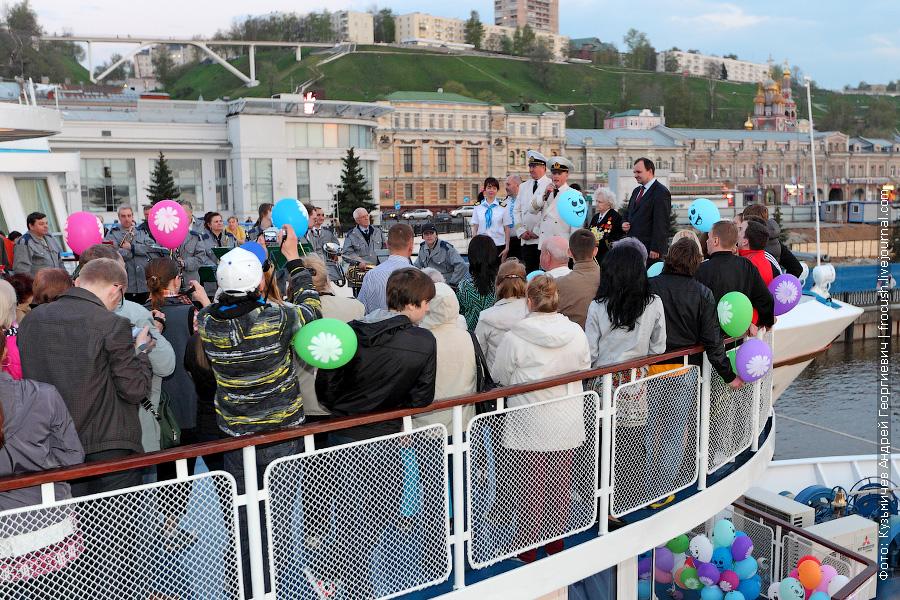 Официальная часть церемонии открытия навигации 2012