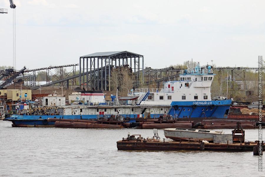 Буксир «Озерный-211» (проект Н-3181, 1982 год постройки)