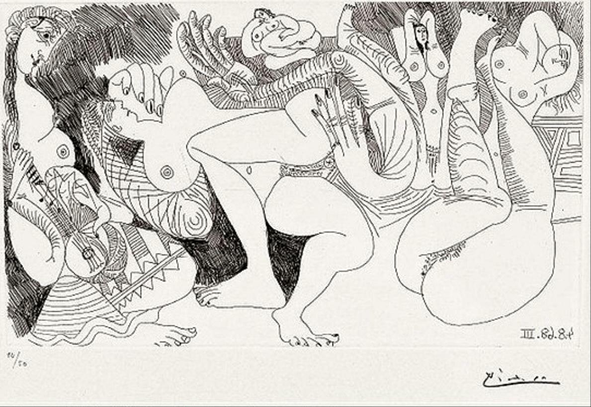 серия 347, Пикассо