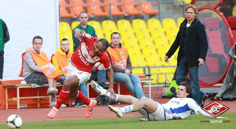 «Спартак» vs «Динамо» 1:1 Премьер-лига 2011-2012 (Фото)