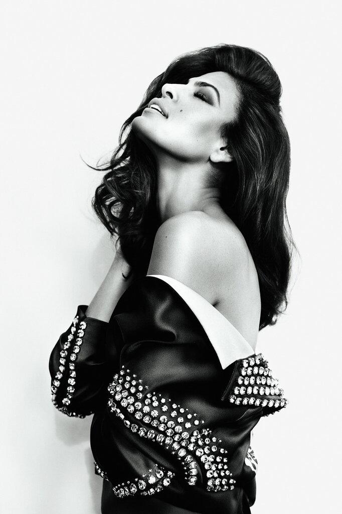 Ева Мендес (Eva Mendes) март 2012