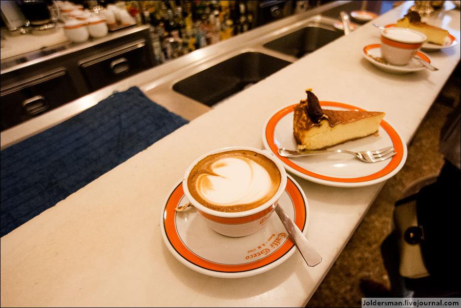 кофе в римском ресторане