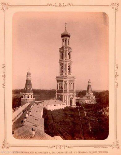 Колокольня Симонова монастыря 1893г.