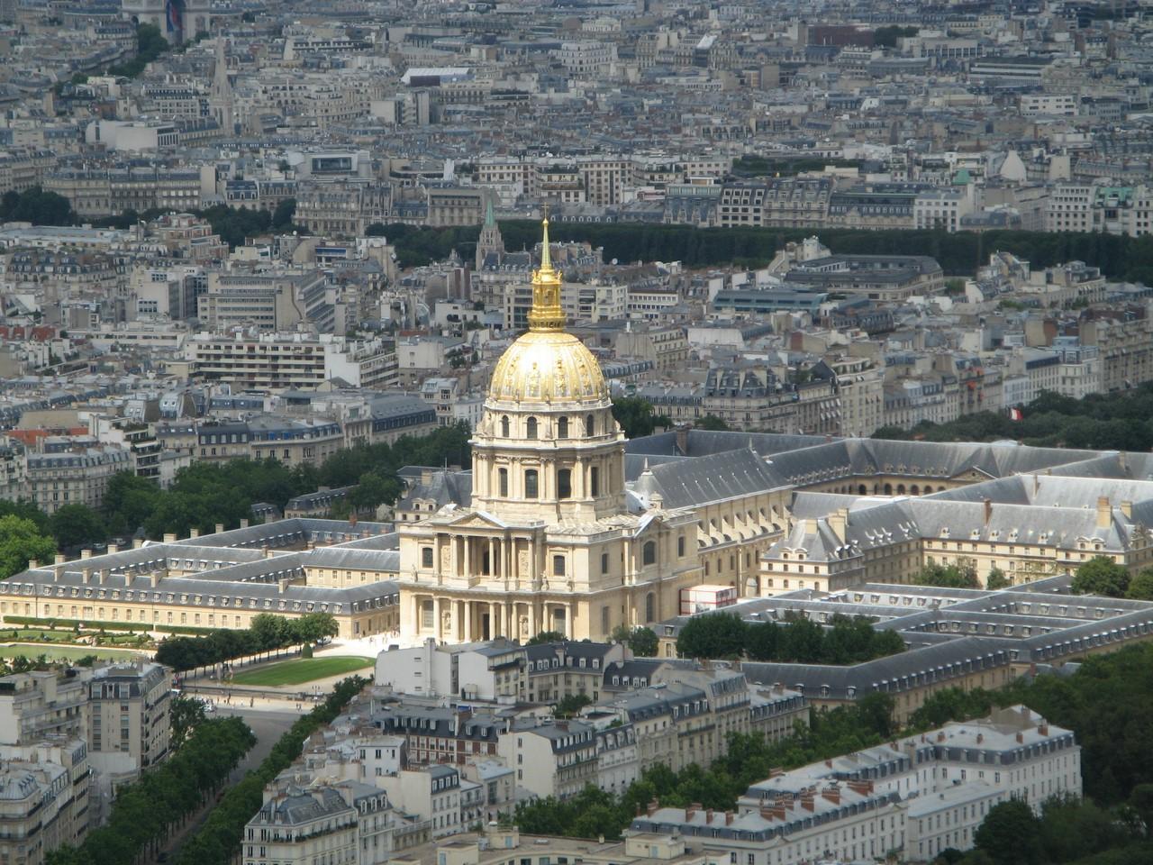 Обои Государственный Дом Инвалидов, купол, Инвалиды. Города foto 10