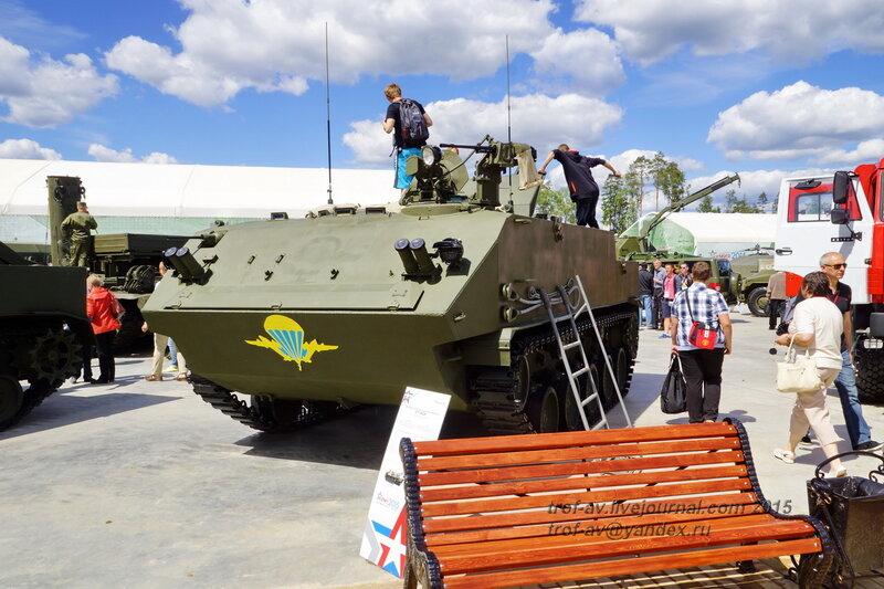 БТР-МДМ, Форум Армия-2015, парк Патриот