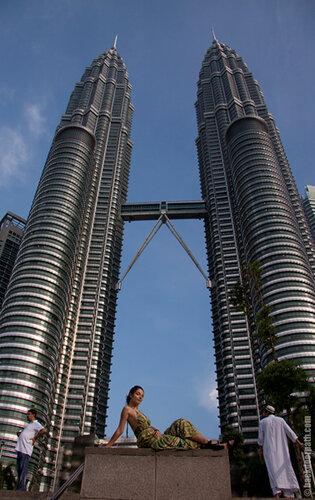Petronas Twins, башни Петронас