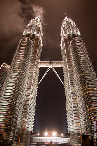 Petronas Twins, башни Петронас, Куала Лумпур