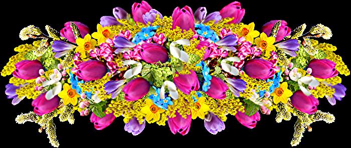 Цветы Букеты Картинки на прозрачном фоне