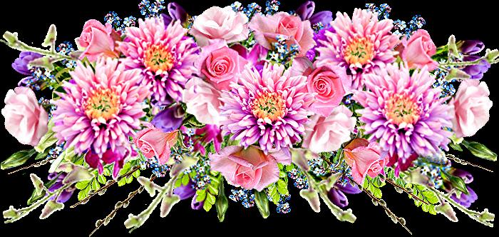 Цветы букеты картинки png