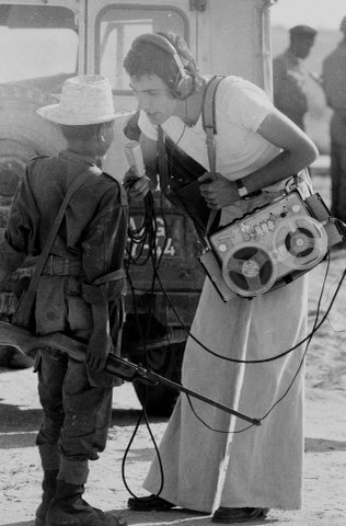14 year-old interviewed during Angolan War. February, 1976