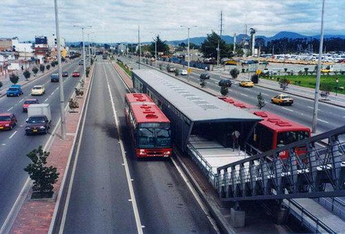 автобусная сеть трансмиллениум