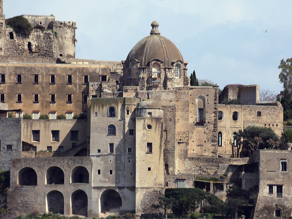 Aragonese castle. Church of the Immaculate (Chiesa Dell'immacolata)