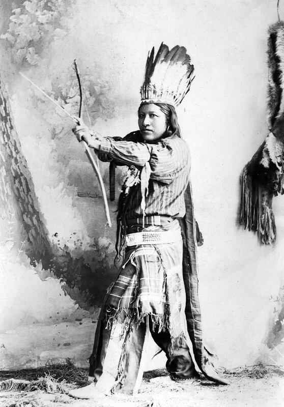Ute portrait, between 1888 and 1890
