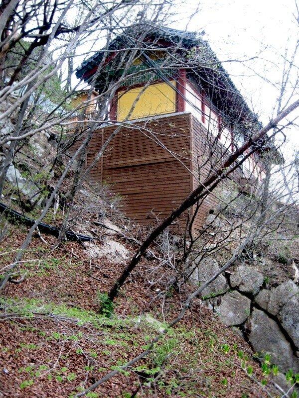 Туалет в горах
